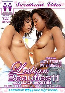 Lesbian Beauties 11: All Black Beauties Box Cover