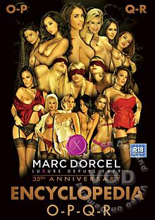 Marc Dorcel - 35th Anniversary Encyclopedia O-P-Q-R Box Cover