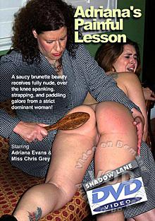 Adriana's Painful Lesson Box Cover