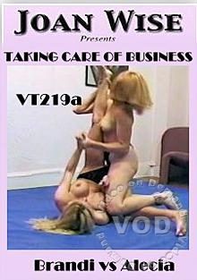Taking Care Of Business - Brandi Vs. Alecia Box Cover