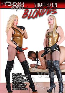 Strapped-On Blondes Box Cover