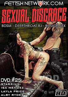 Sexual Disgrace #25 Box Cover