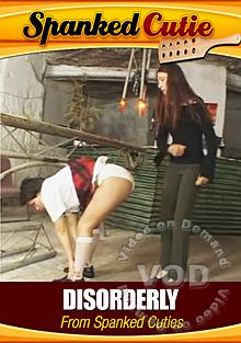Disorderly From Spanked Cuties Box Cover