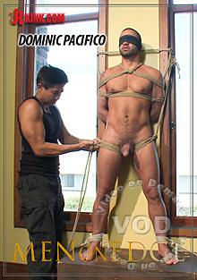 Men On Edge Dominic Pacifico Gets Tied Up Suspended and Edged Box Cover