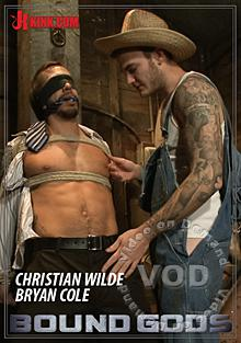 Bound Gods Farmer Christian Wilde Beats And Fucks Bryan Cole For Trespassing Box Cover