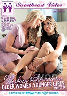 Lesbian Adventures - Older Women, Younger Girls Vol. 10 Box Cover