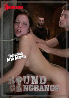 Bound Gangbangs -Tattooed Babe Dominated In A Gangbang