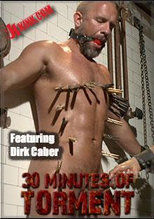 30 Minutes of Torment - Dirk Caber Has His Ass Violated Box Cover