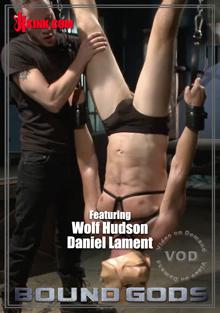 Bound Gods - Hot Cop Captured & Tormented By The Twisted Sex Crimnal Wolf Hudson Box Cover