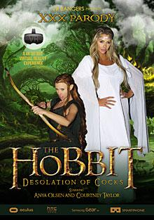 The Hobbit: The Desolation Of Cock - XXX Parody Box Cover