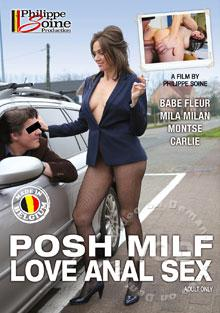 Posh MILF Love Anal Sex (English) Box Cover