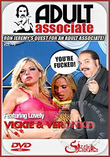 Adult Associate Episode 13 - Vicky Vette and Veronika Raquel Box Cover