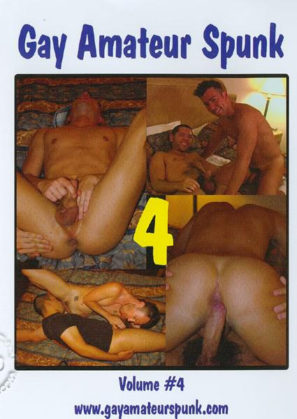 Gay Amateur Spunk Volume #4 Box Cover - Login to see Back