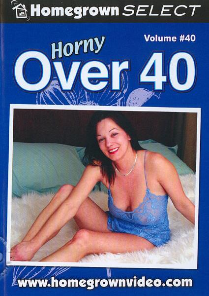 Horny Over 40 Volume #40 Box Cover