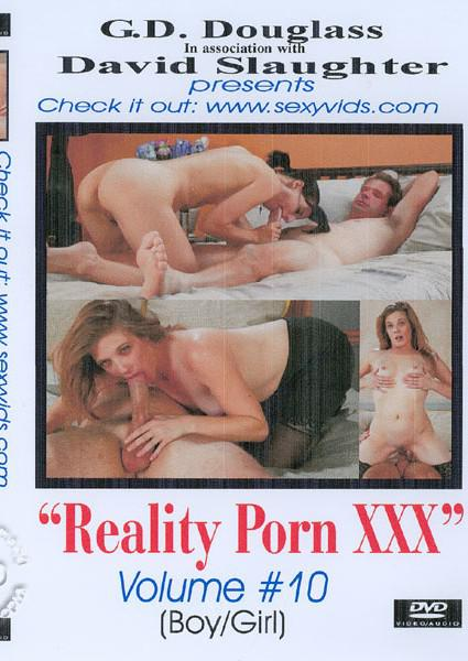 Reality Porn XXX Volume #10 Box Cover