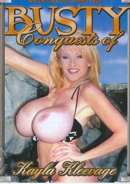 Busty Conquests of Kayla Kleevage Box Cover - Login to see Back