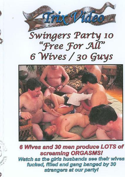 Swingers Party 10 - Free For All Box Cover