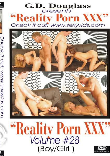 Reality Porn XXX Volume #28 Box Cover