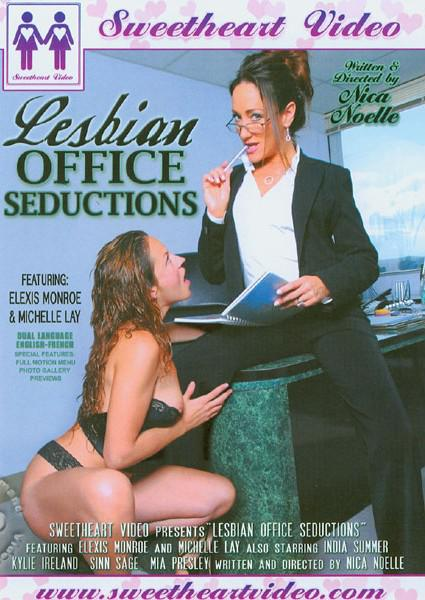 Lesbian Office Seductions Box Cover