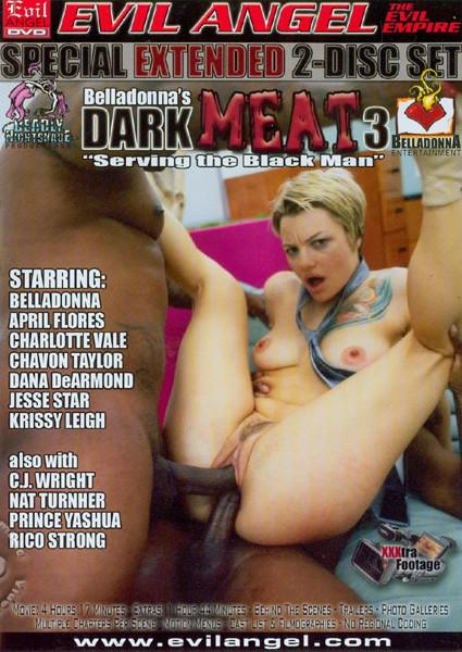 Belladonna's Dark Meat 3 (Disc 1) Box Cover