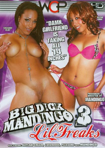 Big Dick Mandingo - Lil Freaks 3 Box Cover