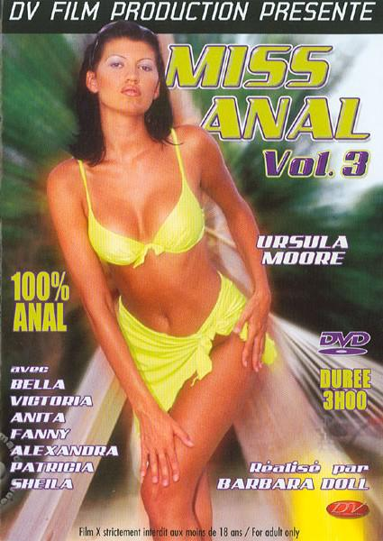 Miss Anal Vol. 3 Box Cover
