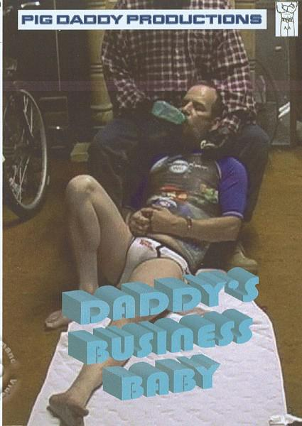 Daddy's Business Baby Box Cover
