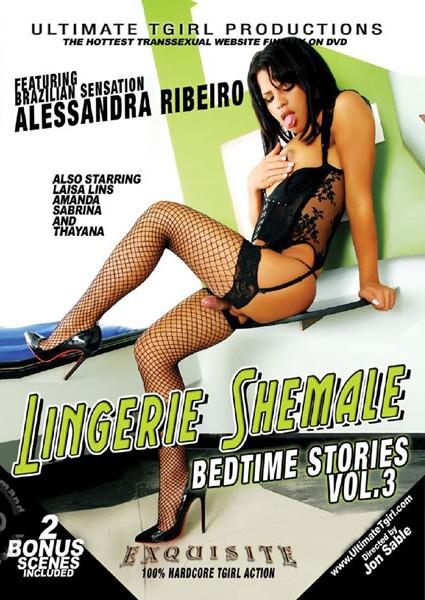 Lingerie Shemale Bedtime Stories Vol. 3 Box Cover