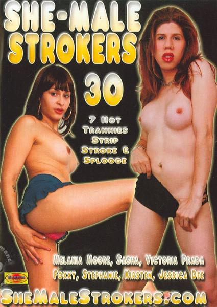 She-Male Strokers 30 Box Cover