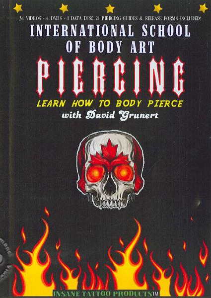 Learn How To Body Pierce - Disc 4 Box Cover