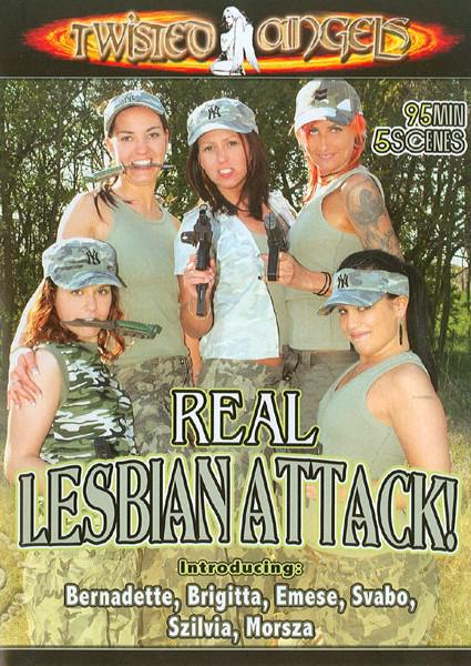 Real Lesbian Attack! Box Cover