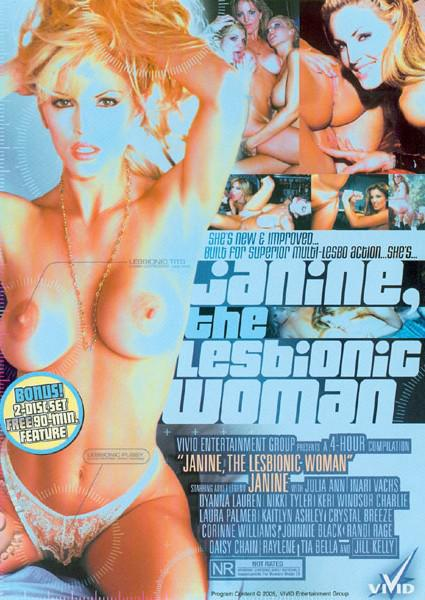 Janine, The Lesbionic Woman Box Cover