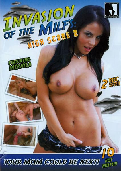 Invasion Of The MILFs: High Score 2 (Disc 2) Box Cover