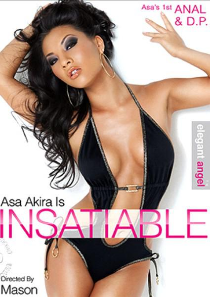 Asa Akira Is Insatiable Box Cover - Login to see Back