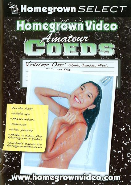 Homegrown Video - Amateur Coeds Volume One Box Cover