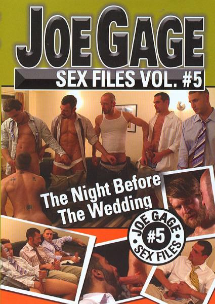 Joe Gage Sex Files Vol. 5 - The Night Before The Wedding Box Cover