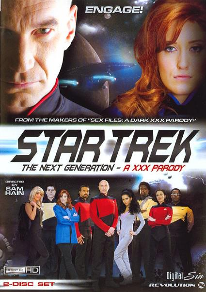 Star Trek - The Next Generation - A XXX Parody Box Cover