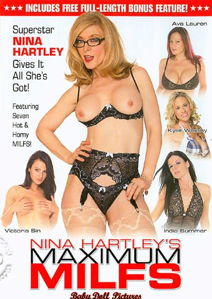 Nina Hartley's Maximum MILFs Box Cover