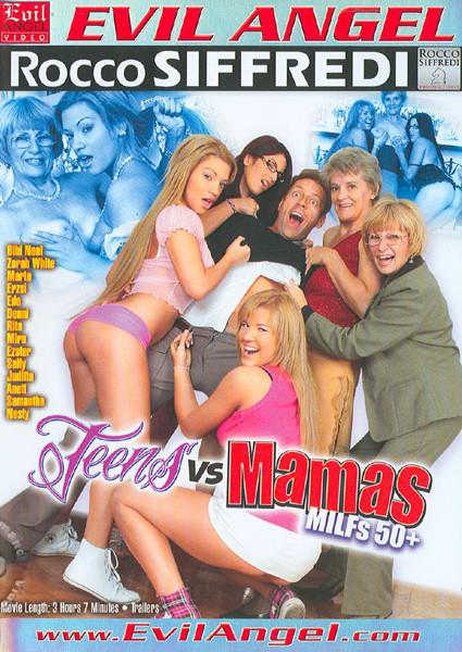 Teens Vs. Mamas - MILFs 50+ Box Cover