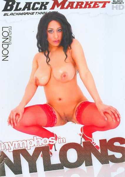Nymphos In Nylons Box Cover