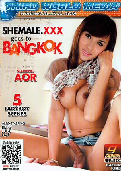 Shemale XXX Goes To Bangkok Box Cover