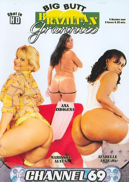 Big Butt Brazilian Grannies Box Cover
