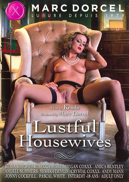 Lustful Housewives (French Language) Box Cover