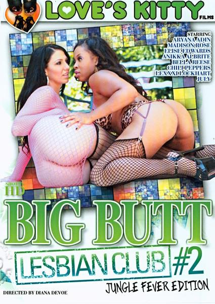 Big Butt Lesbian Club #2 - Jungle Fever Edition Box Cover