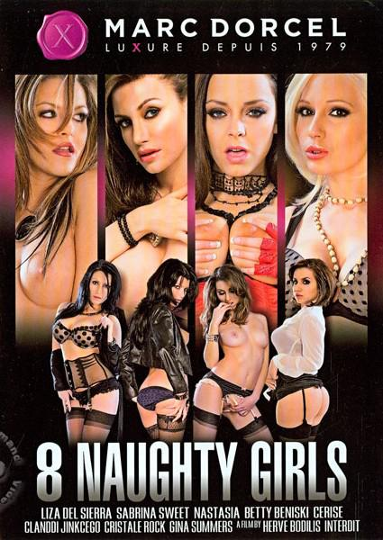 8 Naughty Girls (English) Box Cover