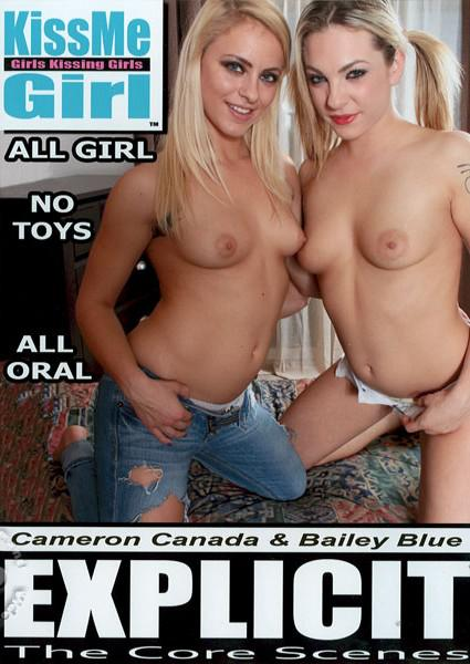 KissMe Girl Explicit - Cameron Canada & Bailey Blue Box Cover