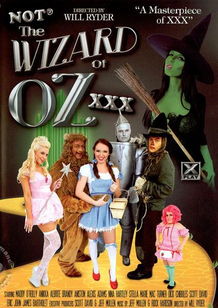Not The Wizard Of Oz XXX Box Cover