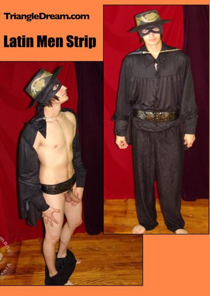 Latin Men Strip Box Cover