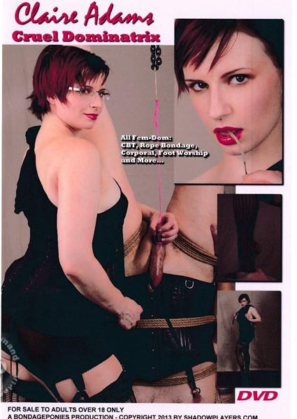 Claire Adams: Cruel Dominatrix Box Cover