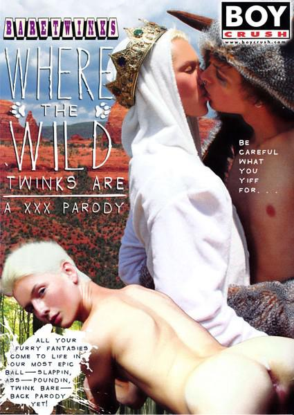 Where The Wild Twinks Are: A XXX Parody Box Cover